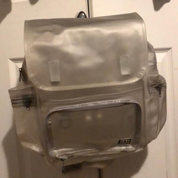 GAP Handbags - Old school GAP clear backpack. 874c31e3e6ead